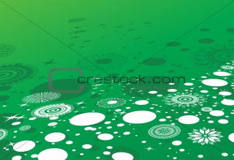 abstract background of christmas ornamented, design8