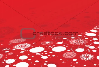 abstract background of christmas ornamented, design9