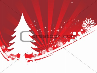 abstract background of christmas ornamented, design12