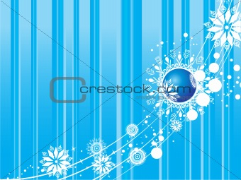 abstract background of christmas ornamented, design18