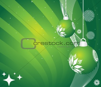 abstract background of christmas ornamented, design1
