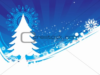 abstract background of christmas ornamented, design24