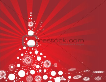 abstract background of christmas ornamented, design25