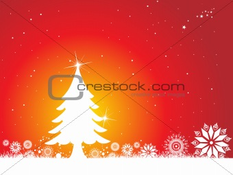 abstract background of christmas ornamented, design27