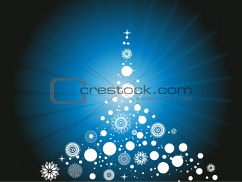 abstract background of christmas ornamented, design30