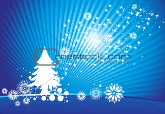 abstract background of christmas ornamented, design35