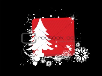 abstract background of christmas ornamented, design36