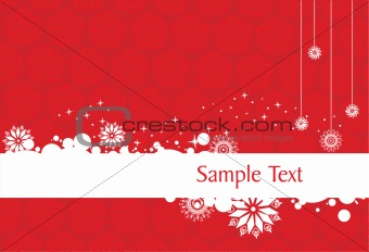 abstract background of christmas ornamented, design43