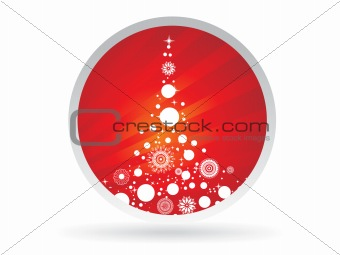 abstract background of christmas ornamented, design44