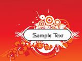 abstract background with place for text, design2