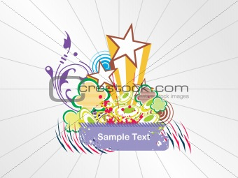abstract background with place for text, design23