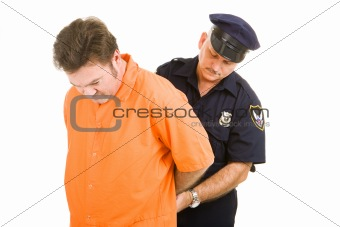 Prisoner and Police Officer