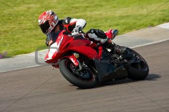 Motorbike racing.