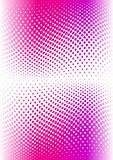 pink color halftone.