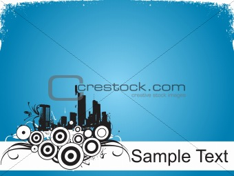 abstract background with place for text, design36