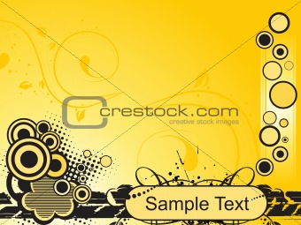 abstract background with place for text, design37