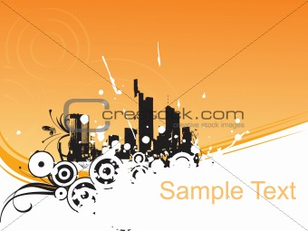 abstract background with place for text, design39