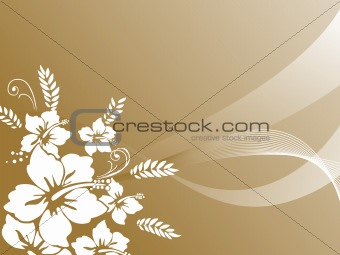 abstract floral background series7 design10