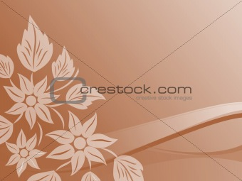 abstract floral background series7 design11