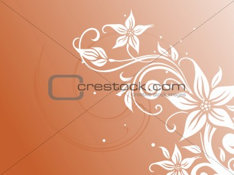 abstract floral background series7 design12