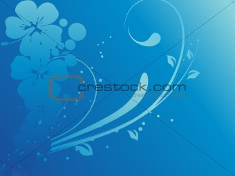 abstract floral background series7 design2