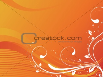 abstract floral background series7 design4