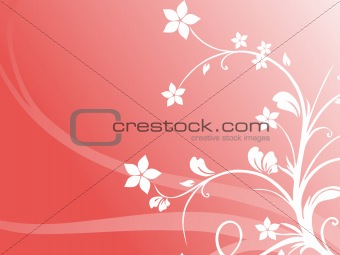 abstract floral background series7 design5
