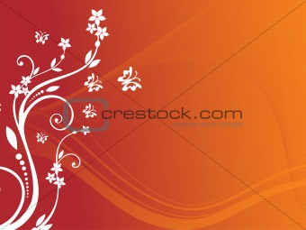 abstract floral background series7 design8