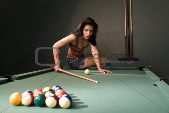 Pool Hall Beauty