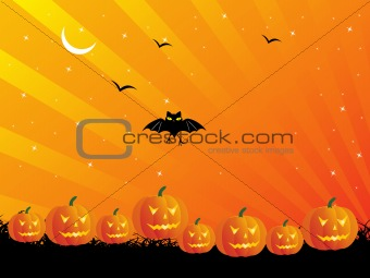 abstract halloween series5 design14
