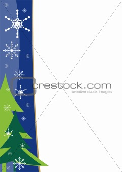 Christmas border template