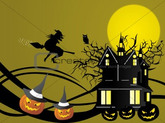 abstract halloween series5 design28