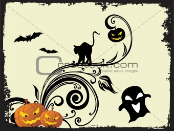 abstract halloween series5 design39