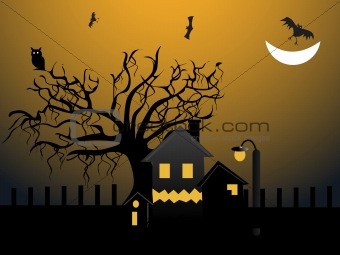 abstract halloween series5 design48