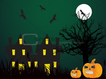 abstract halloween series5 design50