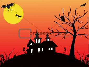 abstract halloween series5 design51