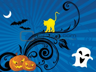 abstract halloween series5 design76