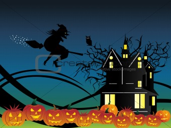 abstract halloween series5 design79
