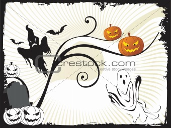 abstract halloween series5 design89