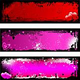 Grunge Valentines backgrounds