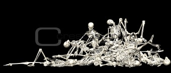 Skeleton pile