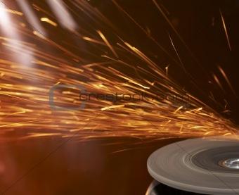 grinder fire