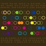 Colorful Circle Pattern