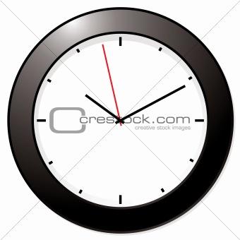 modern mono clock