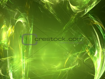 Abstract background. Yellow - green palette.