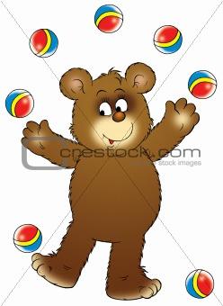Bear Hockey player