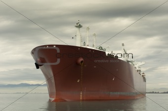 Liquefied gas carrier ship