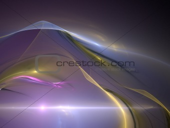 Abstract background. Yellow - purple palette.