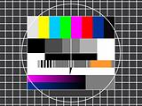 TV technical screen