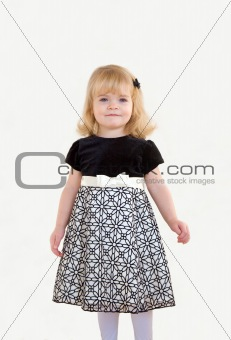 Little Girl Dressed Up